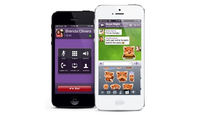Viber é ótimo para comunicação no celular (Foto: Divulgação/Viber)