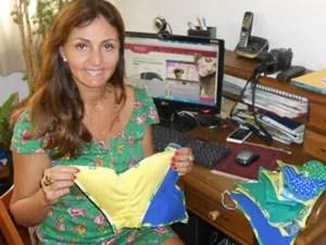 Ana Claudia faz tangas com bojo (Foto: Divulgação)