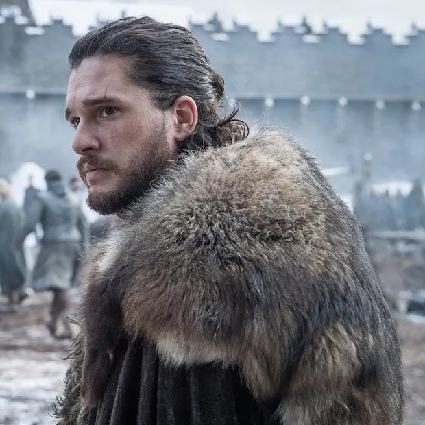 Jon Snow (Kit Harington) em cena da última temporada de Game of Thrones (Foto: Dilvulgação/HBO/Helen Sloan)