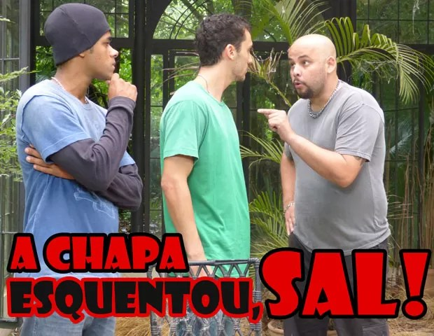 Abre o olho, Sal! A casa vai cair pra você... (Foto: Malhação / TV Globo)