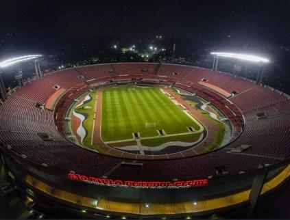 São Paulo terá novo sistema de iluminação no Morumbi — Foto: Igor Amorim / http://saopaulofc.net
