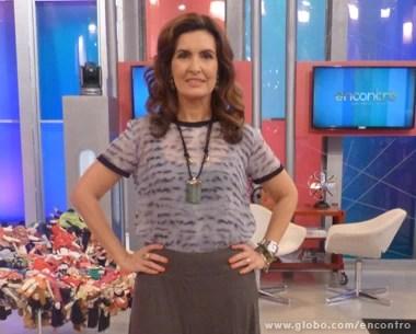 Fátima Benardes destaque (Foto: Encontro com Fátima Bernardes/ TV Globo)