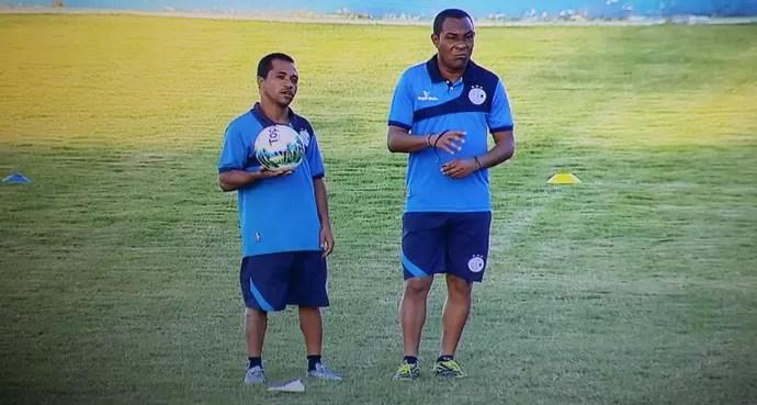 Bibi, Batista, confiança, sabino ribeiro (Foto: José Gilton / TV Sergipe)