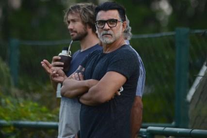 Ricardo Rocha e Lugano, ex-zagueiros, estão na diretoria do São Paulo agora — Foto: Antônio Cícero/Photopress/Estadão Conteúdo