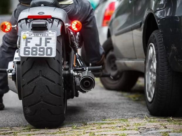 Harley-Davidson Softail Breakout (Foto: Victor Moriyama / G1)