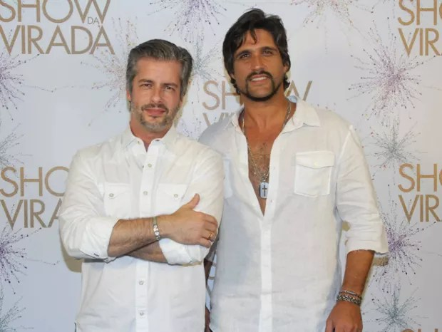 Victor e Léo (Foto: Amauri Nehn/Photo Rio news)