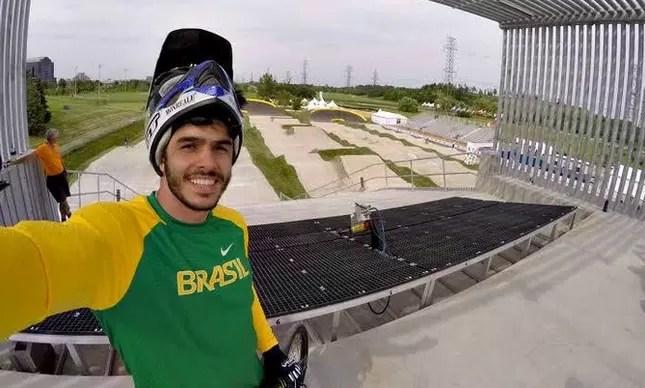 Renato Rezende, o ciclista brasileiro do BMX na Rio-2016