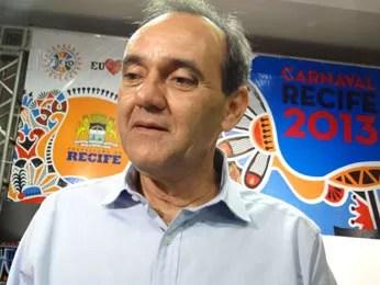 Roberto Lessa - presidente da Fundação de Cultura do Recife (Foto: Luna Markman / G1)
