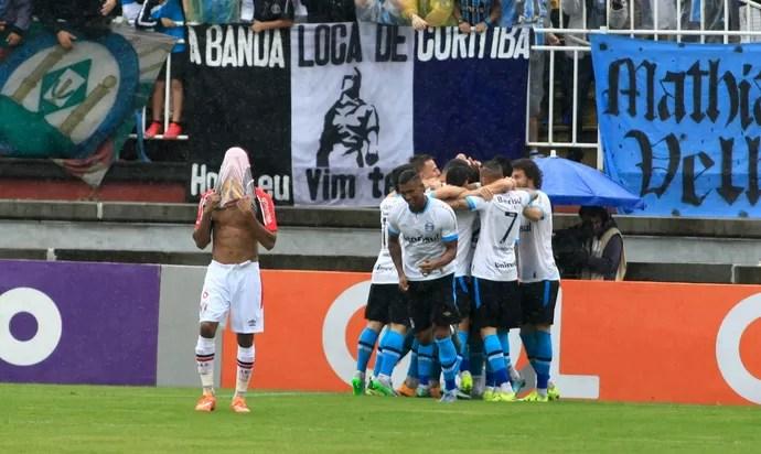 Joinville x Grêmio (Foto: Carlos Jr/Futura Press/Estadão Conteúdo)