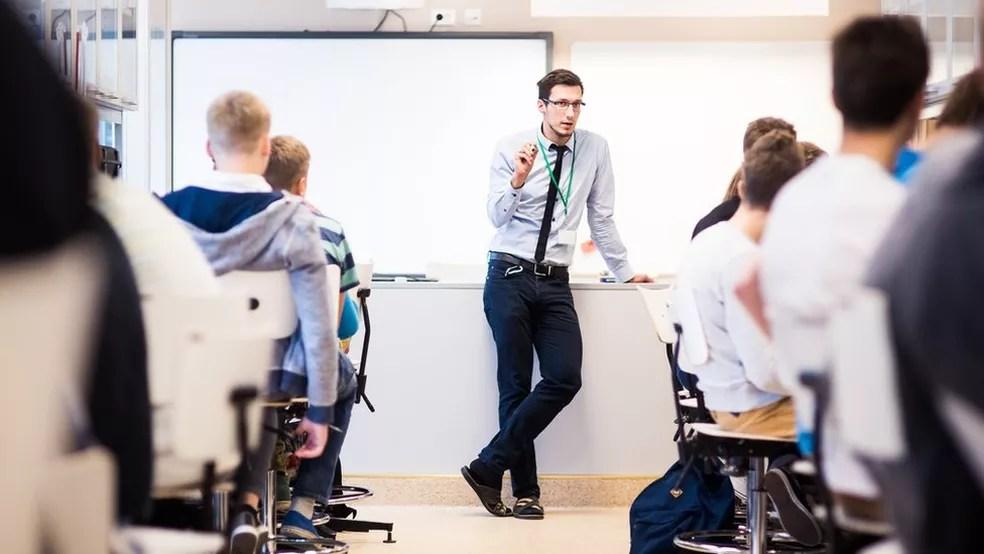 Na Estônia, os professores tiveram um incremento de renda de 80% na última década. Hoje, o salário-base dos docentes é de 1150 euros — Foto: Divulgação/Ministério da Educação da Estônia