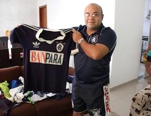 Coleção: no Acre, torcedor tem 120 camisas do Remo a mais cara (Foto: João Paulo Maia)