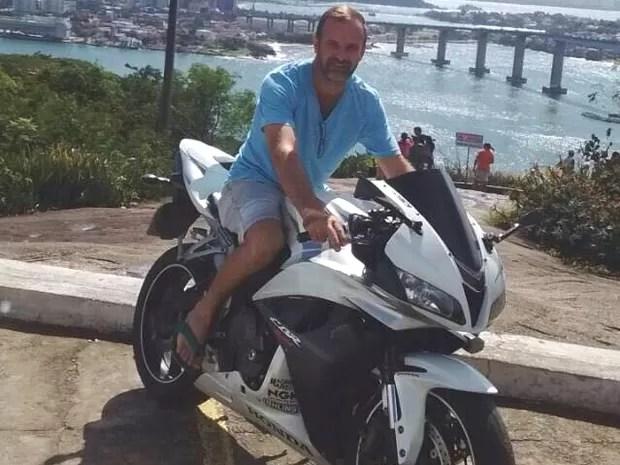 Motociclista Gabriel Roncon (Foto: Arquivo Pessoal)