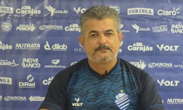 Ney Franco disse que há possibilidade de buscar reforços — Foto: Reprodução/CSA