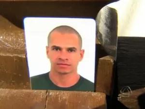 Policial militar Kit Willer da Cruz Moura foi atropelado na avenida Gury Marques em Campo Grande MS (Foto: Reprodução/TV Morena)