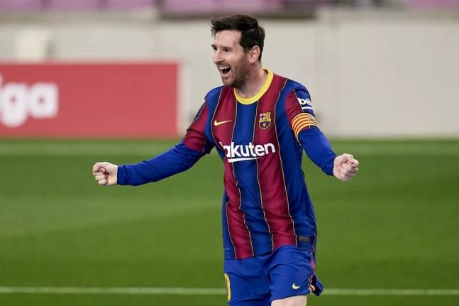 Messi Barcelona Granada — Foto: Getty Images