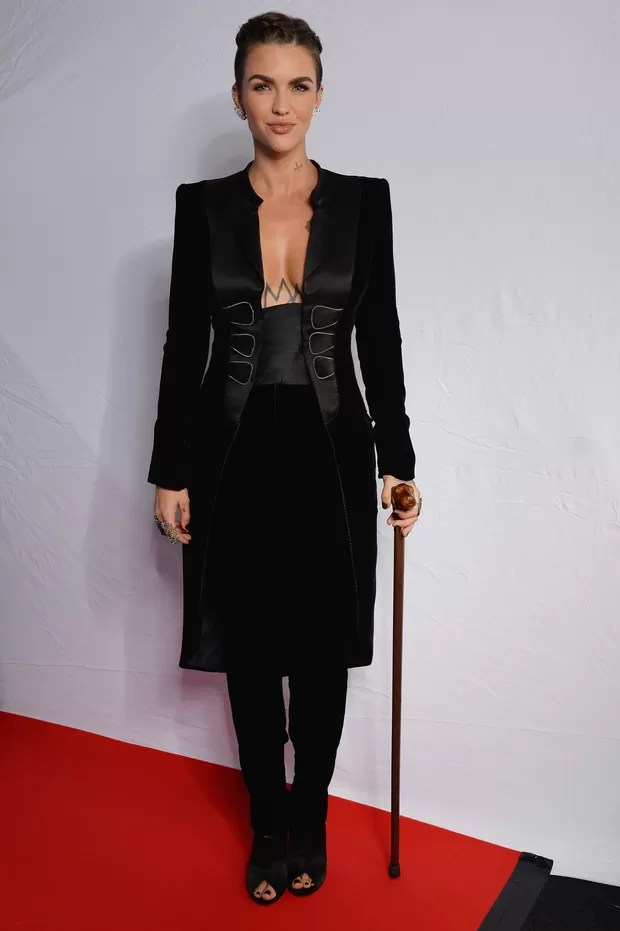 Ruby Rose no MTV EMA 2015 (Foto: Getty Images)