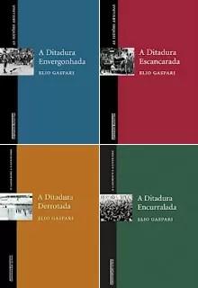 Obra em quatro volumes do jornalista Elio Gaspari sobre a ditadura (Foto: Reprodução)