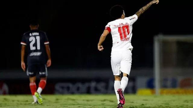 Claudinho em Bragantino x São Paulo