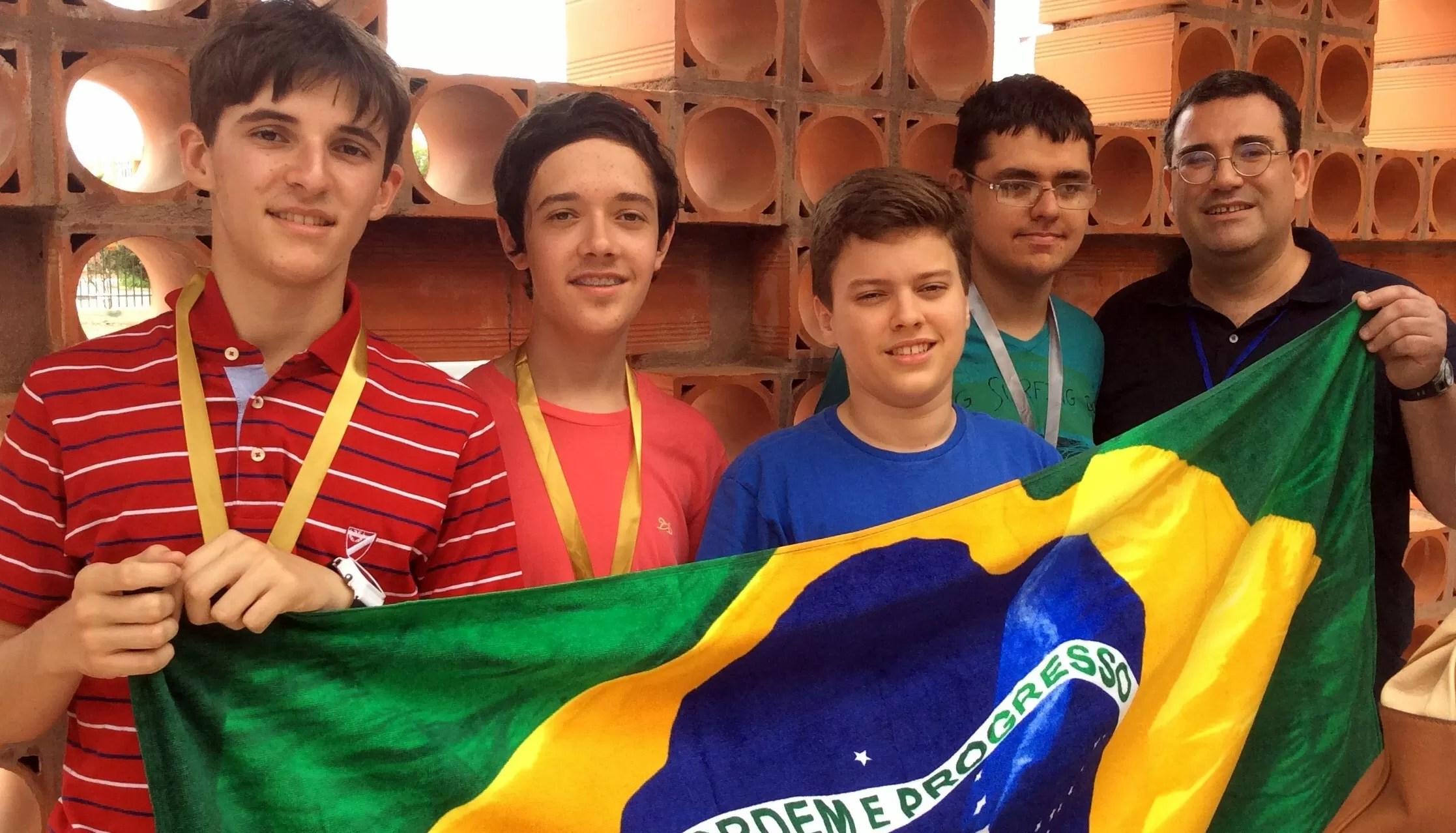 Brasileiros conquistaram um total de 154 pontos de 168 possíveis na competição (Foto: Divulgação)