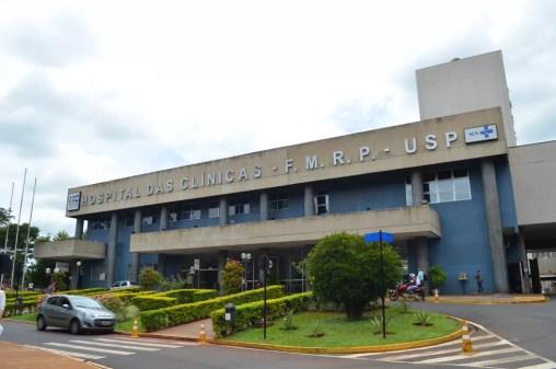 Hospital das Clínicas no campus da USP em Ribeirão Preto (Foto: Rodolfo Tiengo/G1)