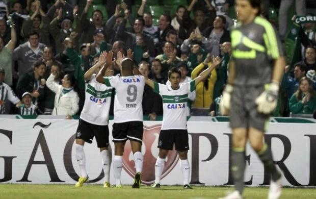 Coritiba Fluminense Robinho (Foto: Divulgação / Site oficial do Coritiba)