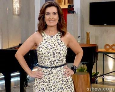 Fátima bernardes posa com os convidados do Encontro (Foto: Encontro com Fátima Bernardes/TV Globo)