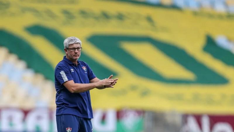 Odair Hellmann, técnico do Fluminense — Foto: Lucas Merçon / FFC