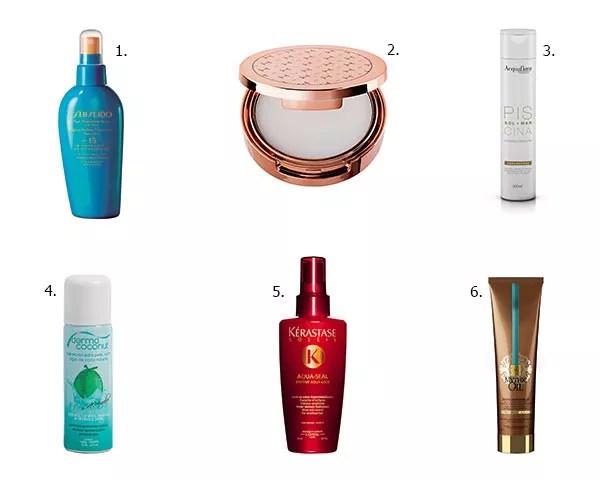 Mais produtos incríveis para você cuidar do corpo e dos cabelos no verão (Foto: Divulgação)