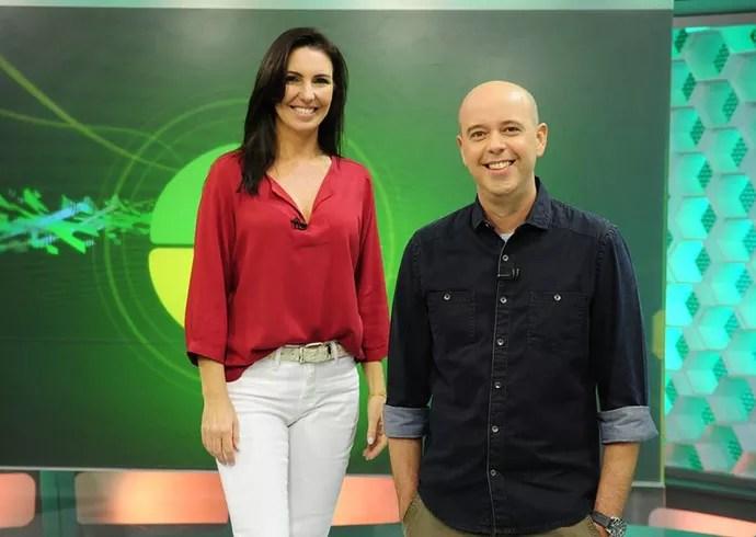 Resultado de imagem para Fernanda Gentil; Flávio Canto e Glenda Kozlowski.