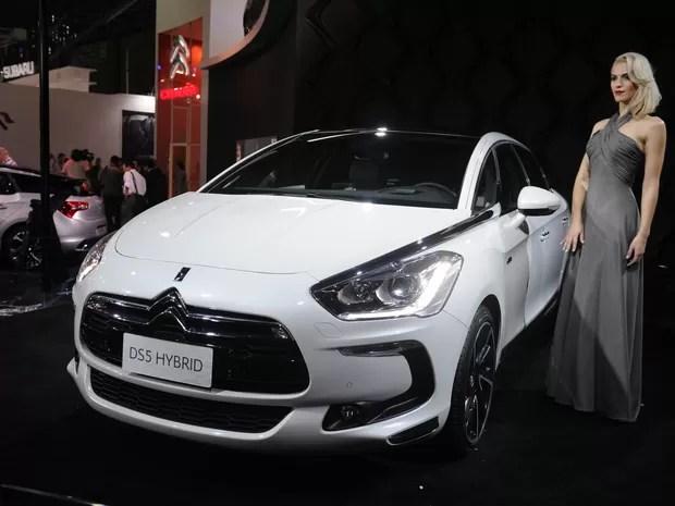Coletiva apresenta o Citroën DS5 (Foto: Raul Zito/G1)