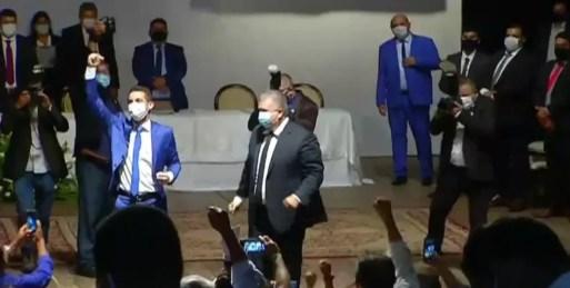 Allyson Bezerra tomou posse como prefeito de Mossoró na última sexta (1º) — Foto: Reprodução