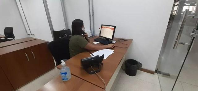 Atendimentos são feitos de forma alternada entre servidores — Foto: Divulgação/OCA