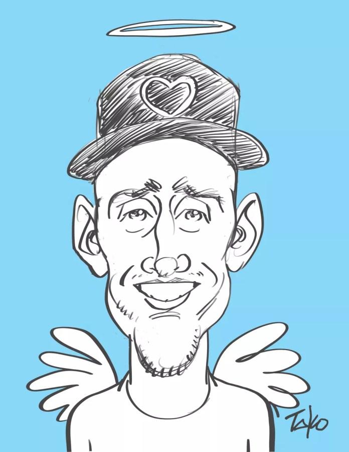 Tako faz homenagem a Paulo Gustavo — Foto: Tako/Associação dos Cartunistas do Brasil