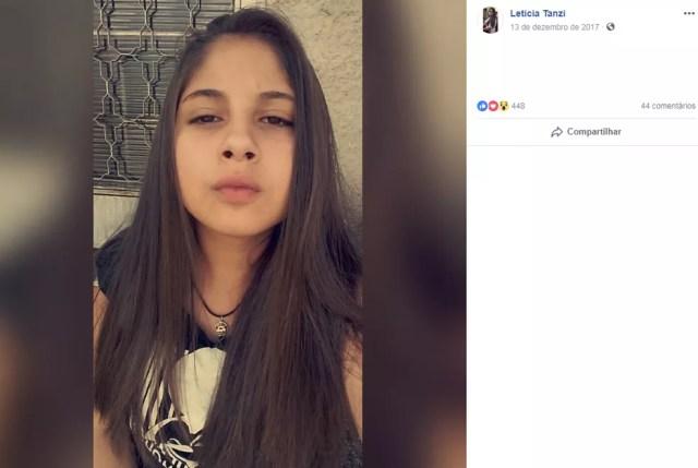 Jovem foi morta a facadas pelo pai em São Roque — Foto: Facebook/Reprodução