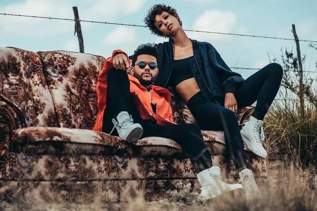 The Weeknd posa com as peças da sua coleção para a Puma, XO (Foto: Divulgação)