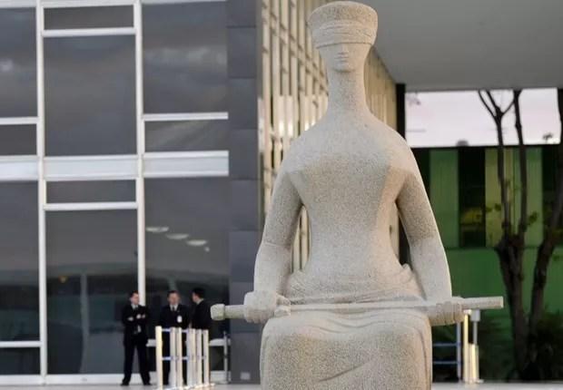 Fachada do Supremo Tribunal Federal (STF) em Brasília (Foto: José Cruz/Agência Brasil)