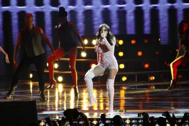 Anitta grava seu primeiro DVD no Rio (Foto: Graça Paes e Thyago Andrade/ Foto rio News)