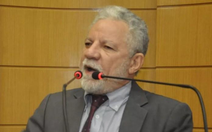 Líder do governo, Francisco Gualberto (PT). (Foto: Assessoria de imprensa do parlamentar/Alese)