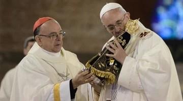 Papa pede a jovens que construam país justo; acompanhe (Adriano Lima/Brazil Photo Press/Estadão Conteúdo)