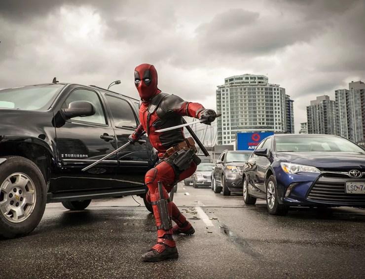 Ryan Reynolds em cena de 'Deadpool' (Foto: Divulgação)