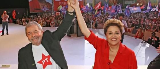 Luiz Inácio Lula da Silva e Dilma Rousseff (Foto: Ricardo Stuckert / Instituto Lula)