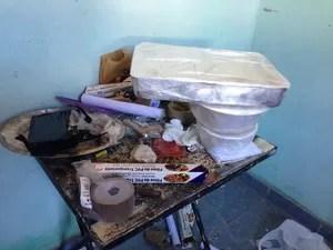 Laboratório de refino de drogas ficava no Jardim Paraná em Assis (Foto: Polícia Civil)