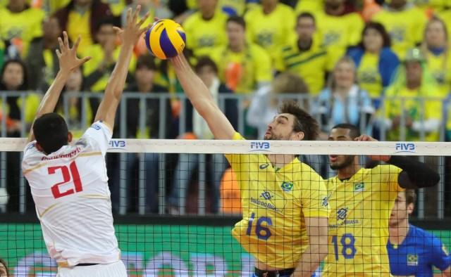 Brasil x França - final liga mundial de vôlei (Foto: FIVB)
