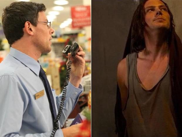 Cory Monteith em seus dois filmes ainda não lançados: 'All the Wrong Reasons' (esquerda) e 'McCanick' (Foto: Divulgação)