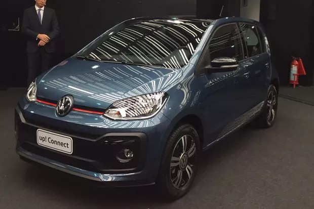 Volkswagen up! é reestilizado no Brasil (Foto:   Michelle Feirreira / Autoesporte)