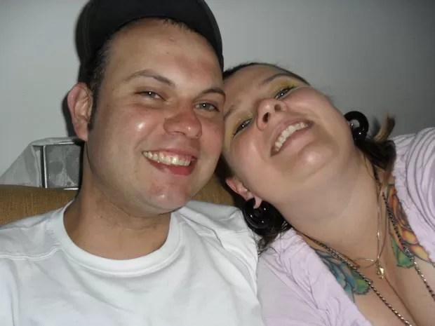 Paula engordou 15 kg apenas no primeiro ano de namoro com Renato, e agora tenta voltar ao peso inicial (Foto: Arquivo pessoal)
