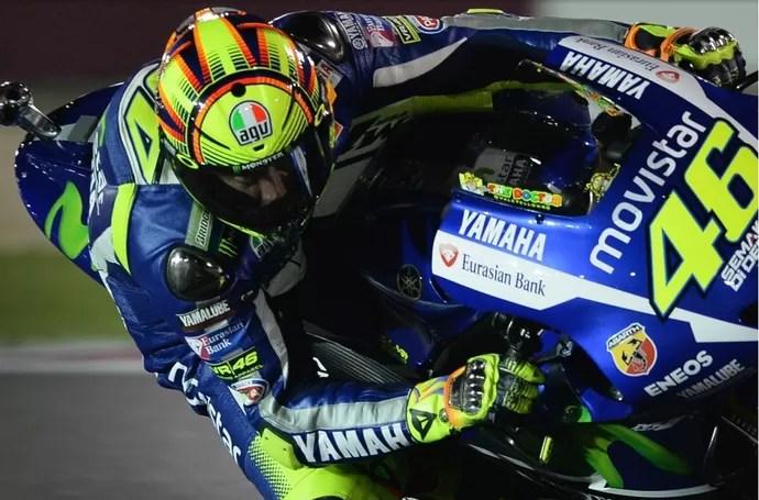 Valentino Rossi vence GP do Catar (Foto: Divulgação/MotoGP)