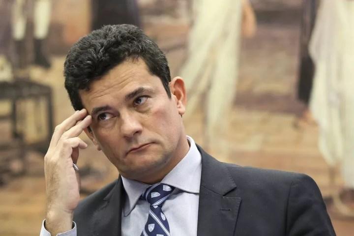 O juiz federal Sérgio Moro, futuro ministro da Justiça e Segurança Pública — Foto: Marcelo Camargo/Agência Brasil
