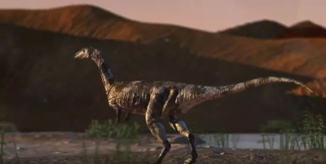 Vespersaurus paranaensis foi descoberto no Paraná (Foto: Reprodução/ Youtube)