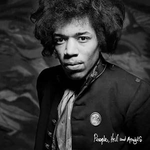 Capa de 'People, hell & angels', álbum póstumo de Jimi Hendrix (Foto: Reprodução)